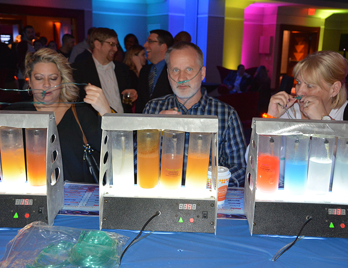 Oxygen at corporate event