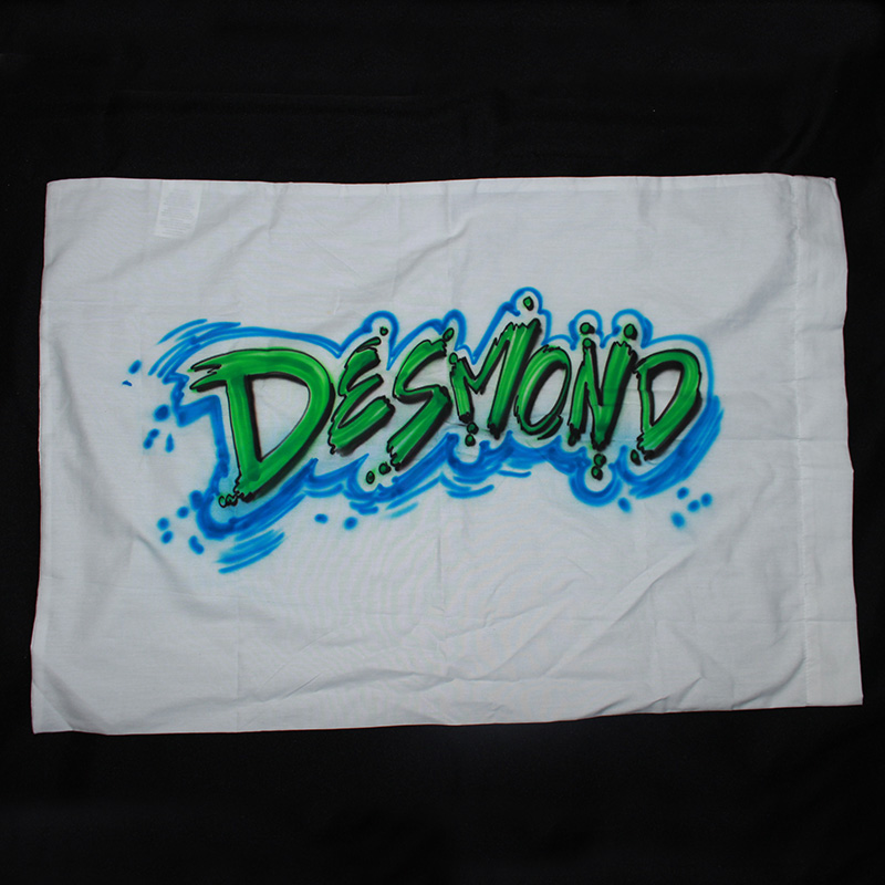 airbrush pillowcases