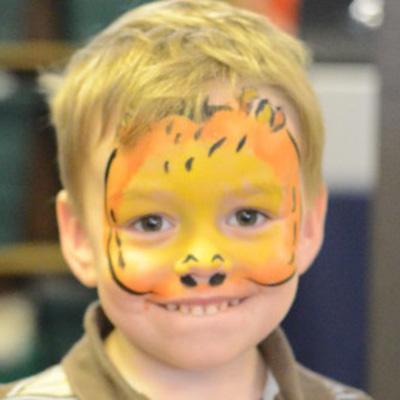 face painting at events