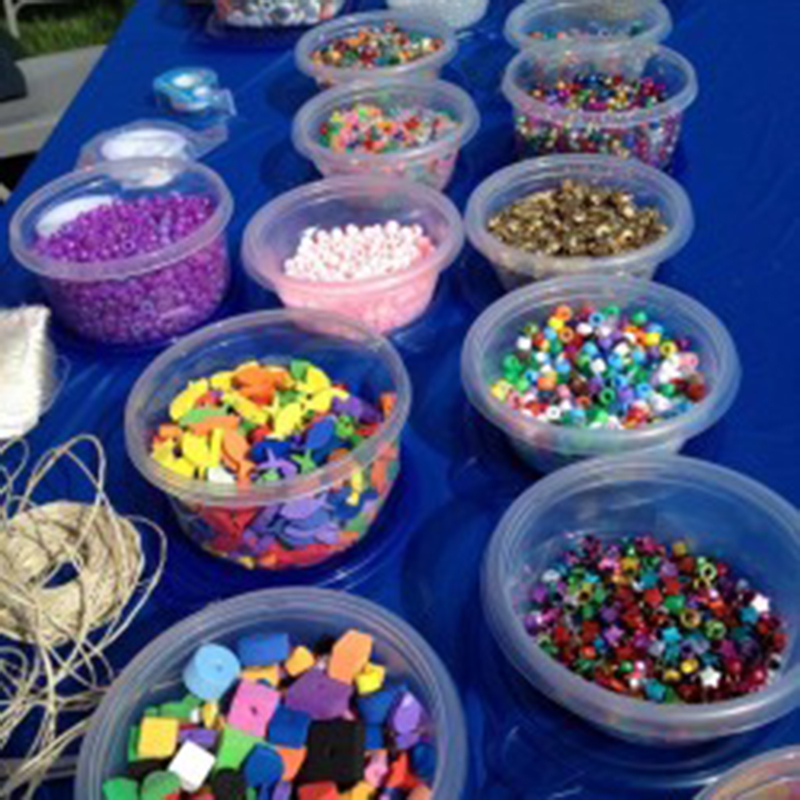 bead table for events