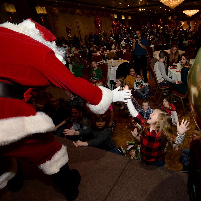 Santa for party rentals