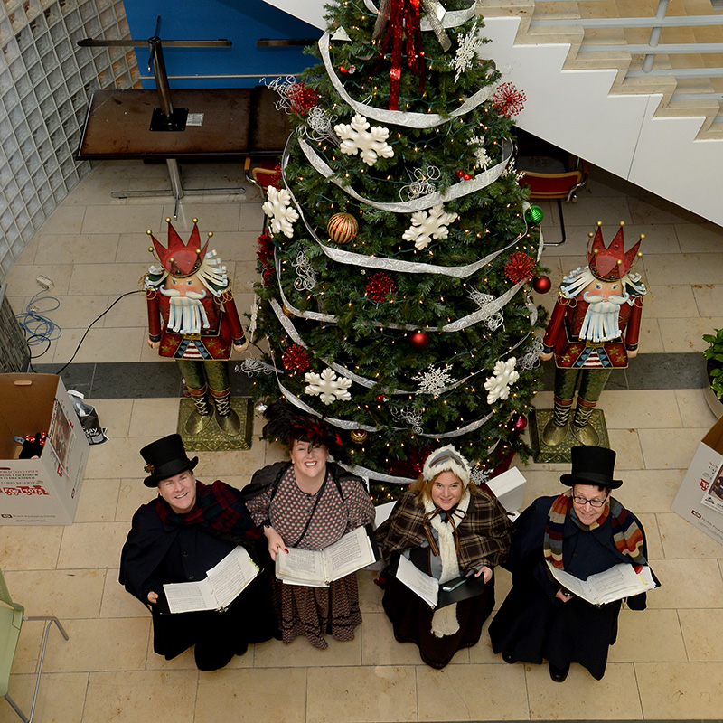 victorian carolers for parties