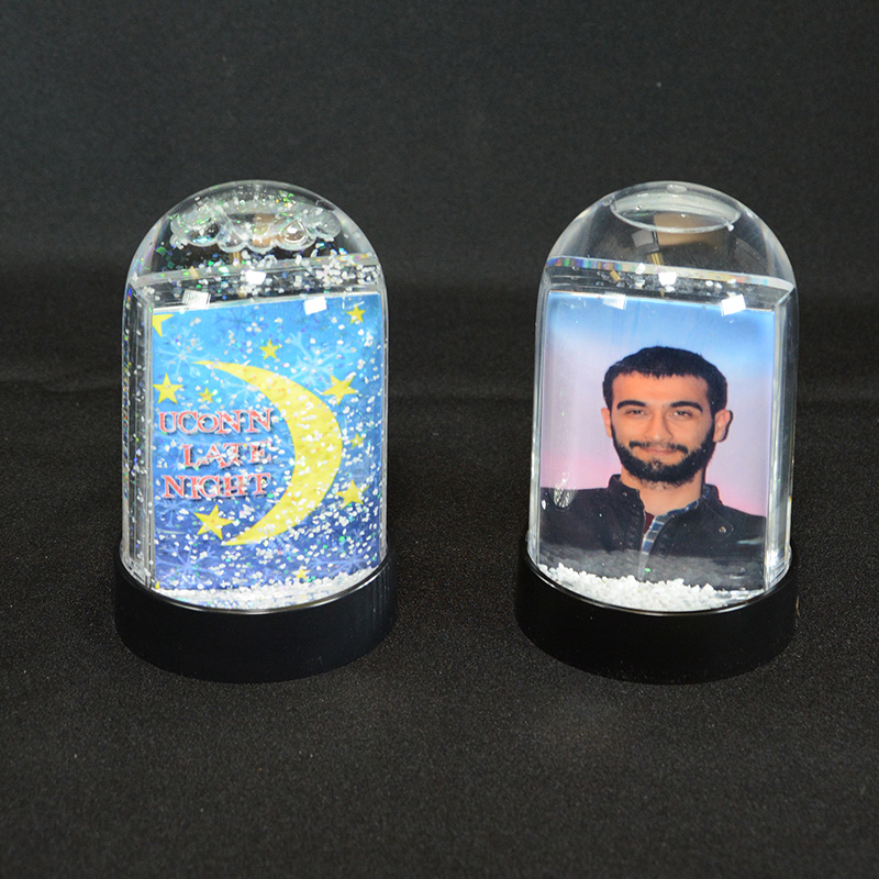 Personalized Photo Snow Globes