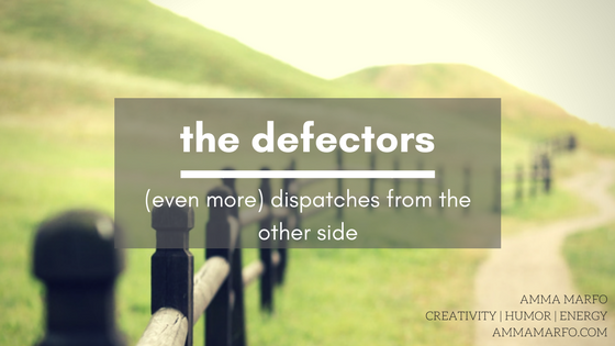 the defectors series with Amma Marfo