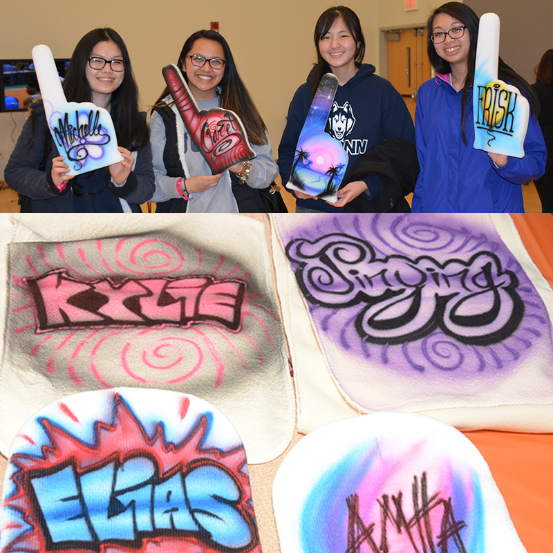 airbrush artists for parties