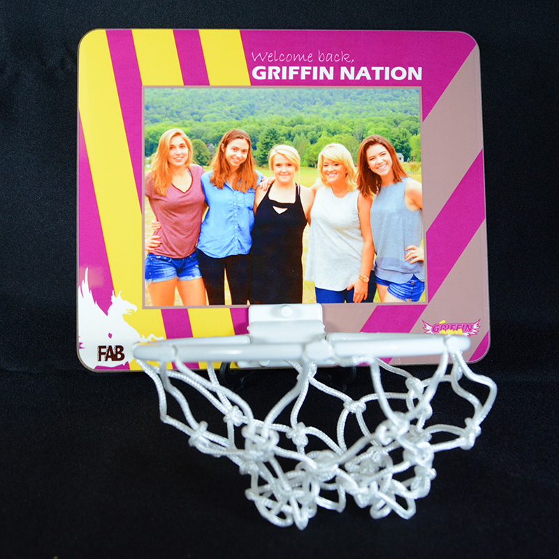 Personalized Photo Basketball Hoop