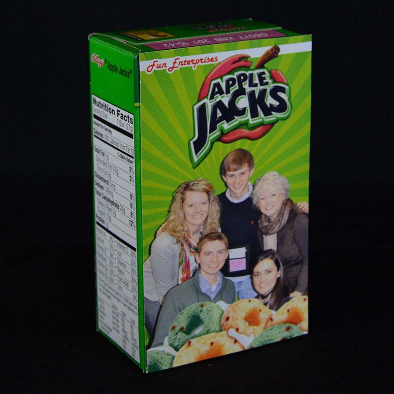 Personalized Photo Cereal Boxes