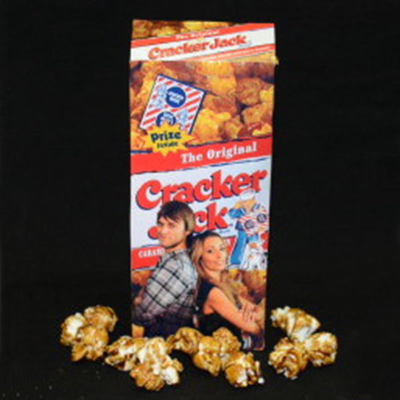 Personalized Cracker Jack Boxes