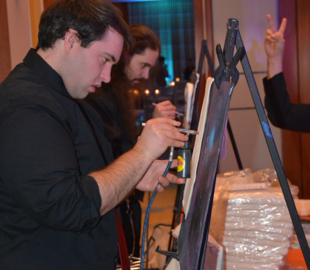 airbrush artists for event entertainment